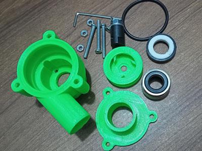 775 motor 3D pump kit