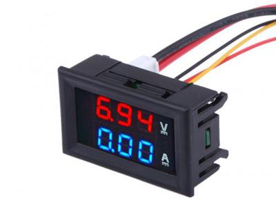 Digital Voltmeter Ammeter.