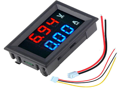 DC Volt meter & Amp Meter
