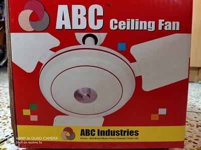 ABC Celling fan