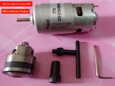 Drill cukh and 775 motor