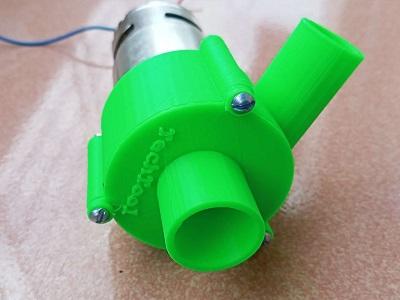 775 Motor with 3D Screw pump